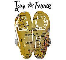 Tour De France Cycling Shoes Photographic Print