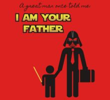 A great man once told me: I am your father One Piece - Long Sleeve