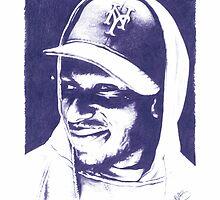 Mos Def - Pencil Portrait by Mark563