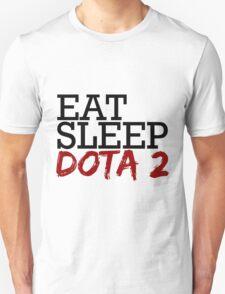 eat, sleep, dota 2 Unisex T-Shirt