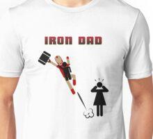 Iron Dad flying Unisex T-Shirt