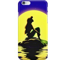 Ariel Sitting on a Rock iPhone Case/Skin