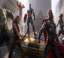 THE AVENGERS by lykos1988