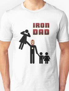 Iron Dad family Unisex T-Shirt