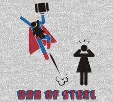 Dad of Steel - Superdad Kids Tee