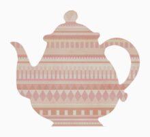 The Peach Teapot Kids Tee