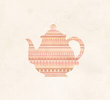 The Peach Teapot by hannahison