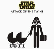 Star Dads - Attack of the Twins by Kokonuzz