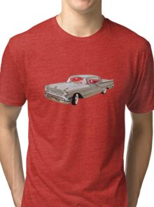 Vintage Oldsmobile Car auto Tri-blend T-Shirt