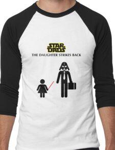Star Dads - The Daughter Strikes Back Men's Baseball ¾ T-Shirt