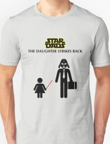 Star Dads - The Daughter Strikes Back T-Shirt