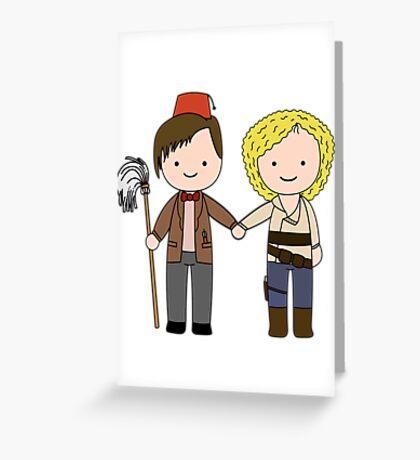 Eleven & River Pandorica Kawaii Design Greeting Card