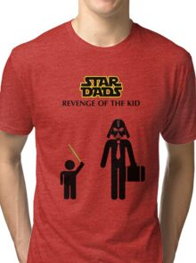 Star Dads - Revenge of the Kid Tri-blend T-Shirt