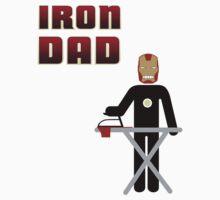 Iron Dad ironing by Kokonuzz