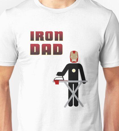 Iron Dad ironing Unisex T-Shirt