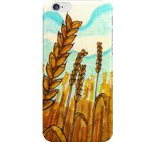 Illustrative landscape drawing iPhone Case/Skin