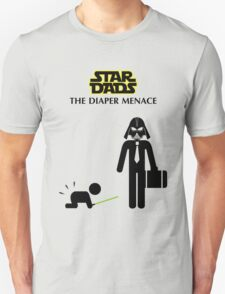 Star Dads - The Diaper Menace T-Shirt