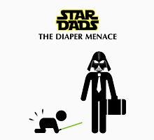 Star Dads - The Diaper Menace Unisex T-Shirt