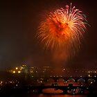 New Year's Fireworks by Monika Nakládalová