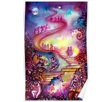 GARDEN OF THE LOST SHADOWS / MYSTIC STAIRS  Poster