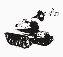 Make Music, Not War Kids Clothes