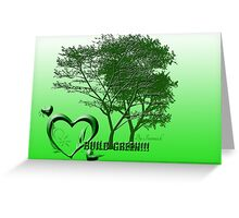 Build green Greeting Card