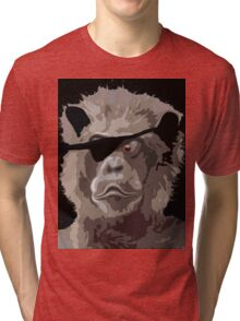 CAPT.BEARLY Tri-blend T-Shirt