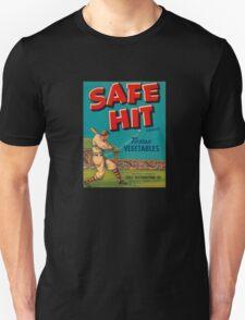Vintage safe hit Sports Unisex T-Shirt