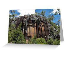 Sawn Rocks, Narrabri, NSW Greeting Card