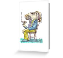 Bad habit Greeting Card