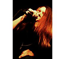 Ronnie Winter - Red Jumpsuit Apparatus Photographic Print