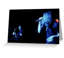 Randy & Ronnie Winter - Red Jumpsuit Apparatus Greeting Card