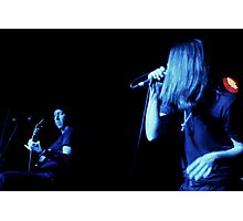 Randy & Ronnie Winter - Red Jumpsuit Apparatus Photographic Print