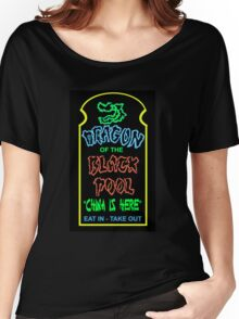 Dragon of the Black Pool, the Best in Little China Women's Relaxed Fit T-Shirt