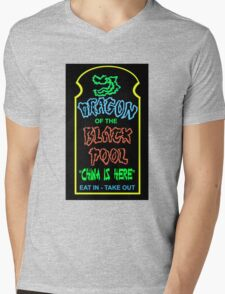 Dragon of the Black Pool, the Best in Little China Mens V-Neck T-Shirt
