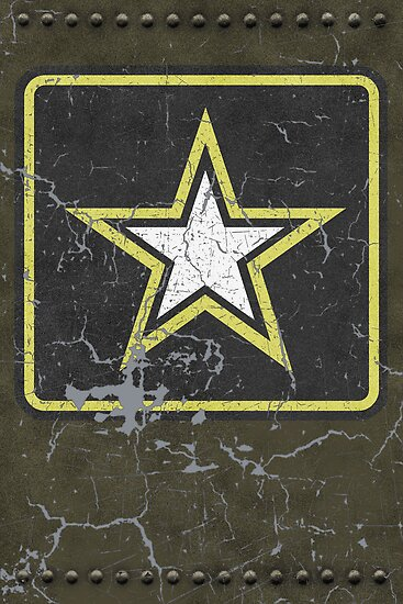 Vintage Look US Army Star Logo  by VintageSpirit