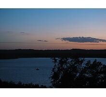 Sunset on Table Rock Lake Mo Photographic Print