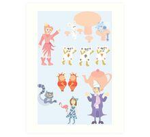 Weird Wacky Wonderful Wonderland Art Print