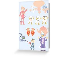 Weird Wacky Wonderful Wonderland Greeting Card