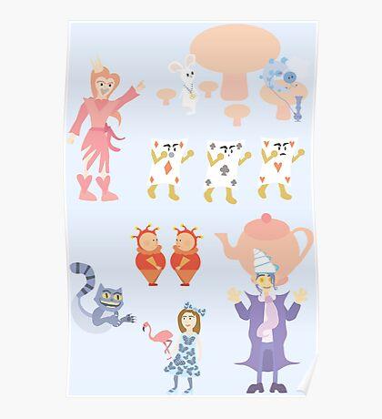 Weird Wacky Wonderful Wonderland Poster