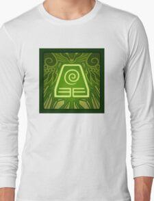 Earth Kingdom Emblem Long Sleeve T-Shirt
