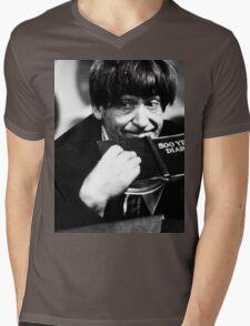 Patrick Troughton Mens V-Neck T-Shirt