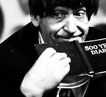 Patrick Troughton by ABRAHAMSAPI3N