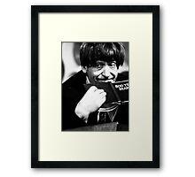 Patrick Troughton Framed Print