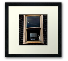 Window Decadence - Rural America  Framed Print