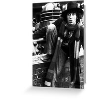 Tom Baker Greeting Card