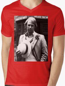 Peter Davison Mens V-Neck T-Shirt