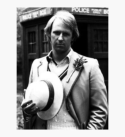 Peter Davison Photographic Print