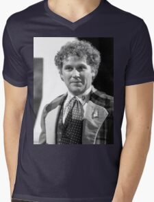 Colin Baker Mens V-Neck T-Shirt