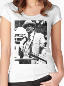 Sylvester McCoy Women's Fitted Scoop T-Shirt